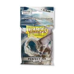 Standard Dragon Shield Sleeves Perfect Fit (100) – Clear